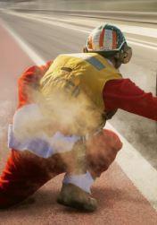 Formel 1 Mensch Rennstrecke
