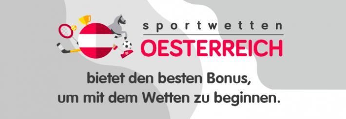 sportwettenoesterreich.at bietet den besten Bonus, um mit dem Wetten zu beginnen.