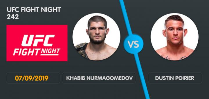 Khabib Nurmagomedov : Dustin Poirier Wett Tipp UFC 242